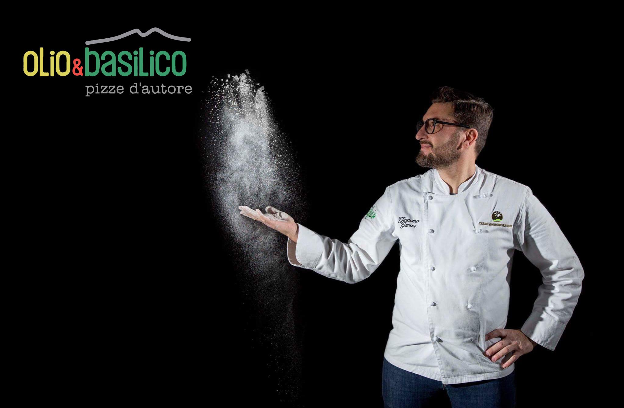 Le Specialità Gourmet Della Pizza Di Giacomo Garau E Gli Impasti Alternativi Da Olio & Basilico