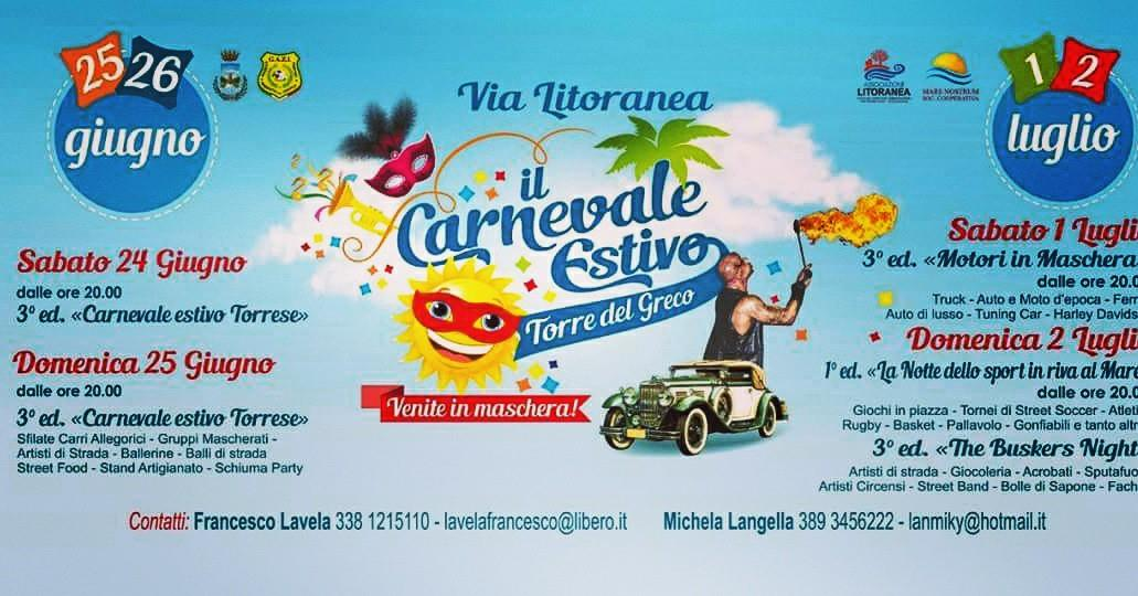 """""""È Tempo Di Carnevale A Torre Del Greco!"""""""