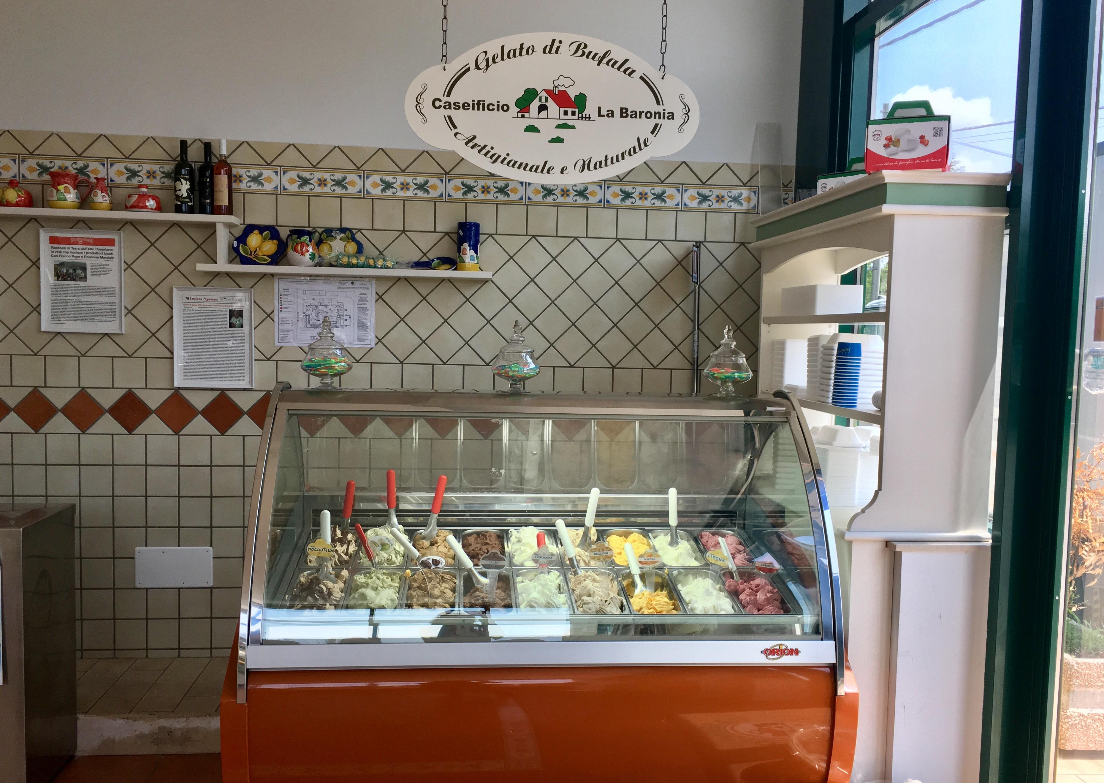 """""""Gelato Artigianale Al Latte Di Bufala: Il Caseificio La Baronia Accoglie L'estate In Tutta Freschezza"""""""
