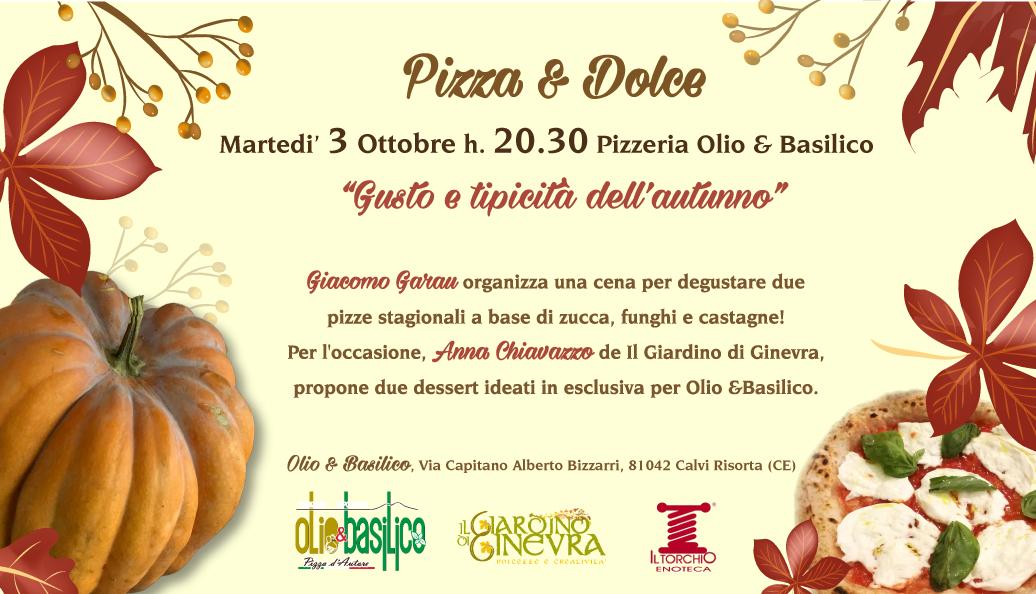 Olio&Basilico Cena Martedi