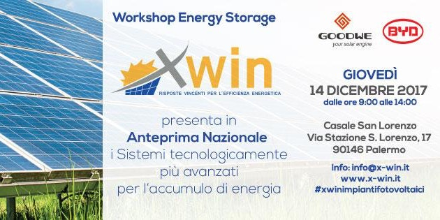 ENERGY STORAGE WORKSHOP