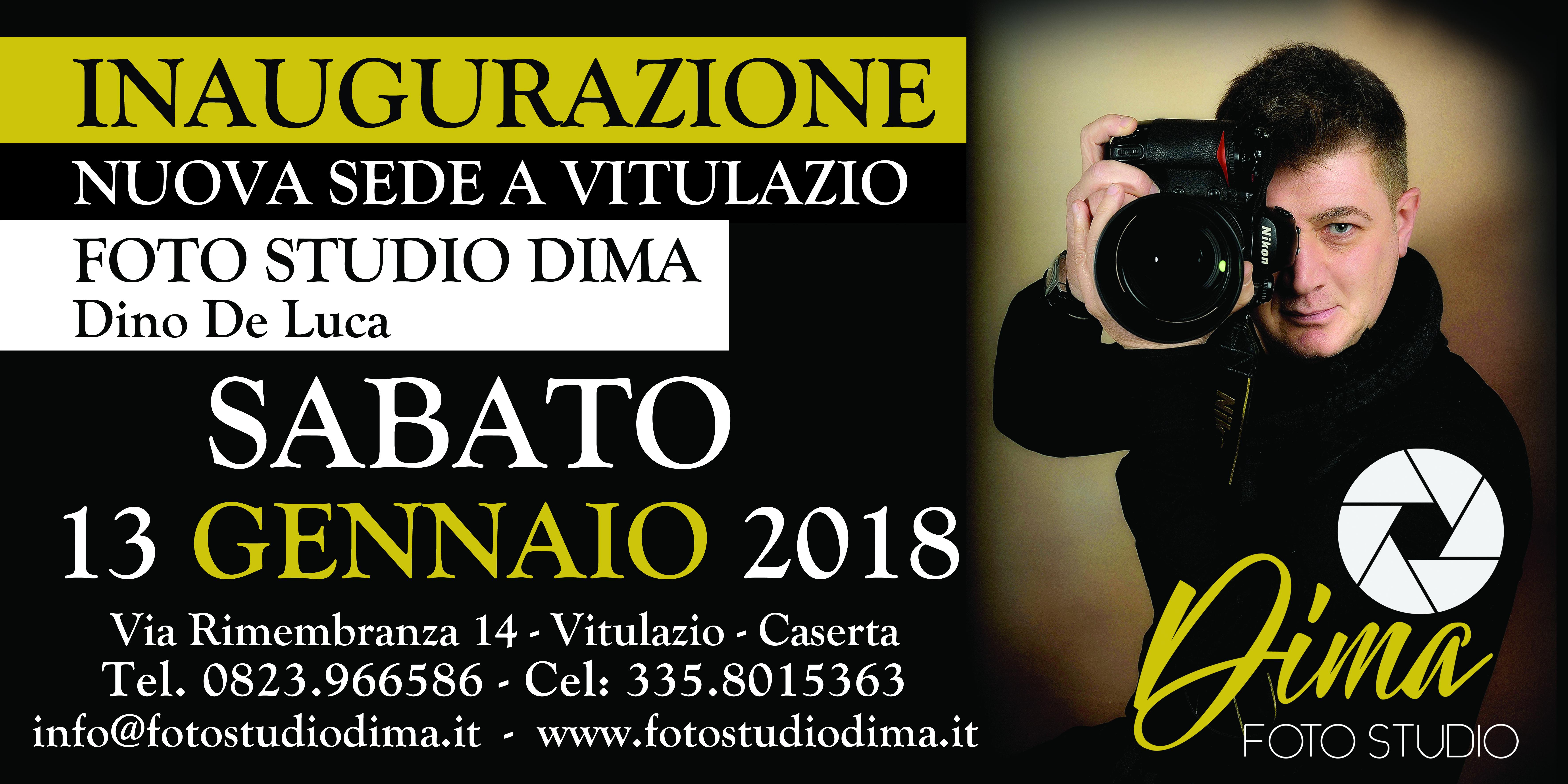 """""""Foto Studio Dima, Mostra Personale Del Fotografo Dino De Luca A Vitulazio"""""""
