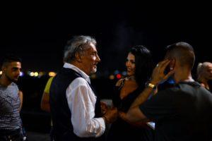 Andrea Roncato e Nancy Coppola