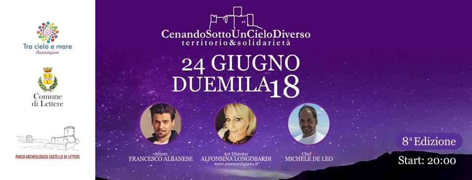 """Più Di 90 Chef Ai Fornelli Per """"Cenando Sotto Un Cielo Diverso"""""""