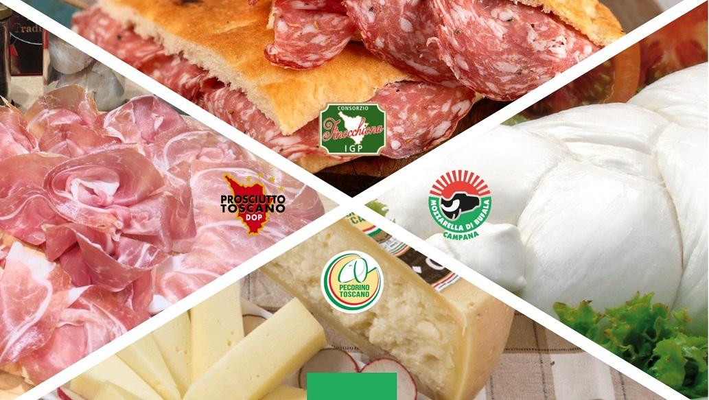 """Campania-Toscana, Master Class E Show Cooking Alla Reggia Di Caserta: Il """"patto"""" Del Gusto Tra I Consorzi Di Tutela Finocchiona, Prosciutto E Pecorino Toscano Incontrano La Bufala Dop"""