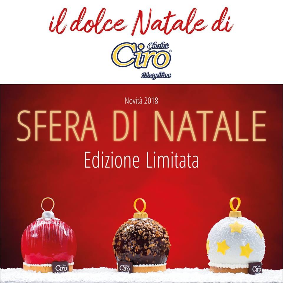 """""""Feste All'insegna Dell'innovazione Da Chalet Ciro: Arrivano Sfere E Babbà Natale"""""""