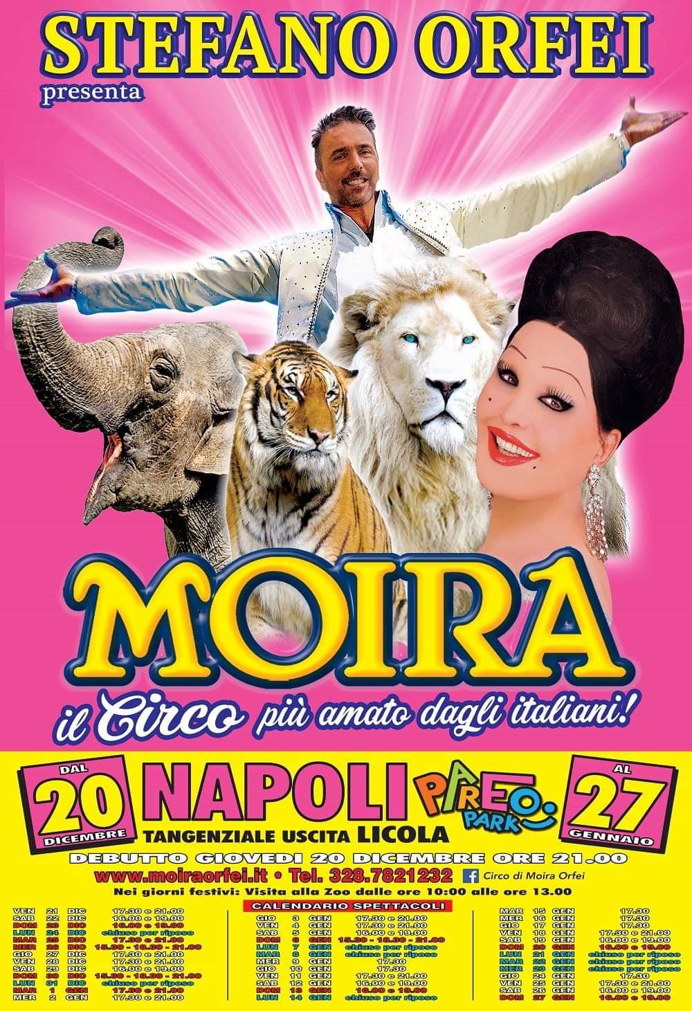 """""""Il Circo Di Moira Orfei Festeggia A Napoli I 250 Anni Di Storia Delle Arti Circensi"""""""
