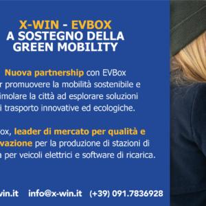 """""""ACCORDO DI PARTNERSHIP TRA X-WIN EEVBOXA SOSTEGNO DELLA GREEN MOBILITY"""""""