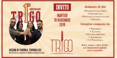 """""""Trigo A Teverola, La Pizzeria Compie 1 Anno!"""""""