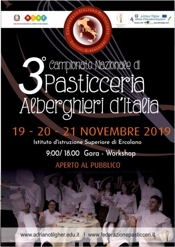 """""""Campionato Nazionale Di  Pasticceria Degli Istituti Alberghieri D'Italia"""""""